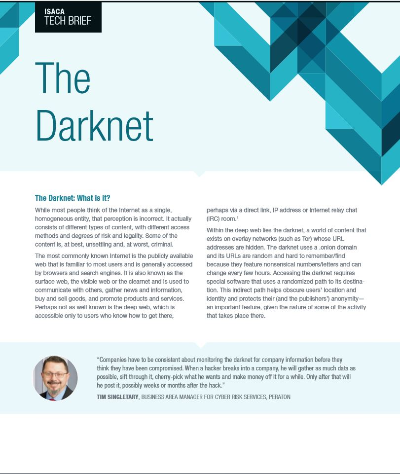 The Darknet: